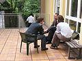 Wikimania 2005 - Jimbo talks.jpg