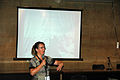 Wikimania 2009 - Florence Devouard- Improving collaboration (1).jpg