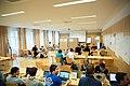 Wikimedia Hackathon Vienna 2017-05-20 Hacking Gurkerl 01.jpg