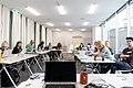 Wikipedia-Workshop Wikimedia Österreich Amnesty International Academy 2019-03 c.jpg