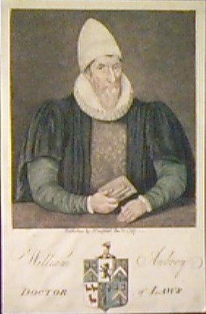William Aubrey - Image: William Aubrey