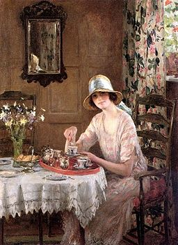 William Henry Margetson - Afternoon Tea