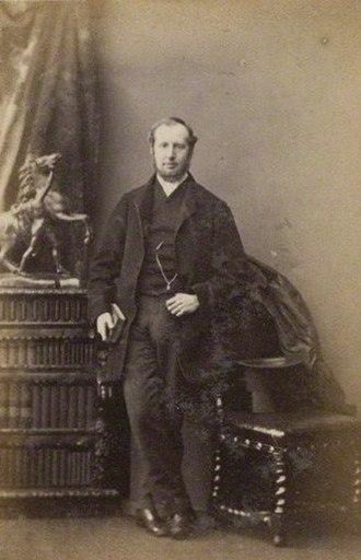 William Kirkpatrick Riland Bedford - William Kirkpatrick Riland Bedford, 1861 photo