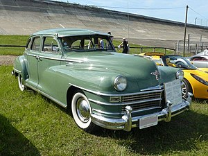 Chrysler Windsor - 1948 Chrysler Windsor 4-door sedan
