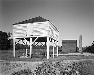 Georgetown County, South Carolina - Winnowing house, Mansfield Plantation, Georgetown County