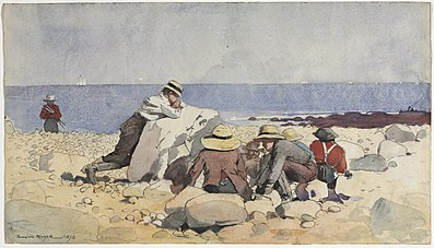 Winslow Homer - A Clam-Bake.jpg