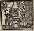 Witchcraft; a witch and a devil making a nail with which to Wellcome V0025812EBL.jpg