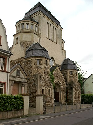 Wittlich - Former synagogue on Himmeroder Straße