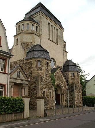 Wittlich - Former synagogue on Himmeroder Straße