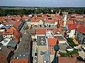 Wittstock Marienkirche - Blick zum Rathaus.jpg