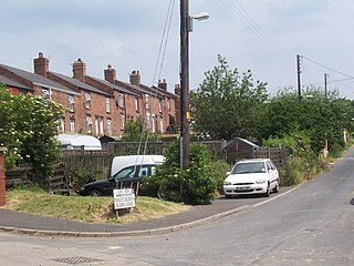 Woolley Colliery village in United Kingdom