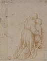 Woman and Child Kneeling (recto); Head of Child (verso) MET 80.3.132 RECTO.jpg