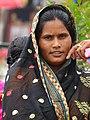 Woman outside Shalimar Bagh Garden - Srinagar - Jammu & Kashmir - India (26238155073).jpg