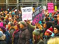 Women's march to denounce Donald Trump, in Toronto, 2017 01 21 -br (32457409705).jpg