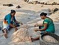 Women at work in Uttan - Velankanni Beach.jpg