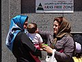 Women in Russian Bazaar - Jolfa - Iranian Azerbaijan - Iran (7421482616).jpg