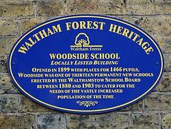 Woodside school (waltham forest heritage)