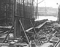Working on the keel of a new ship at J.L. Thompson and Sons Ltd (9107764046).jpg