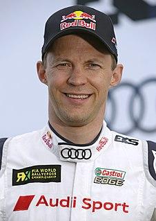 Mattias Ekström Swedish racecar driver