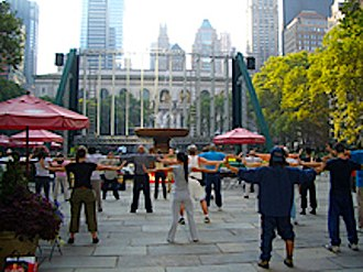 Qigong - Image: World Tai Chi & Qigong Day event (Manhattan)