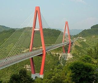 Pengshui Miao and Tujia Autonomous County Autonomous County in Chongqing, Peoples Republic of China