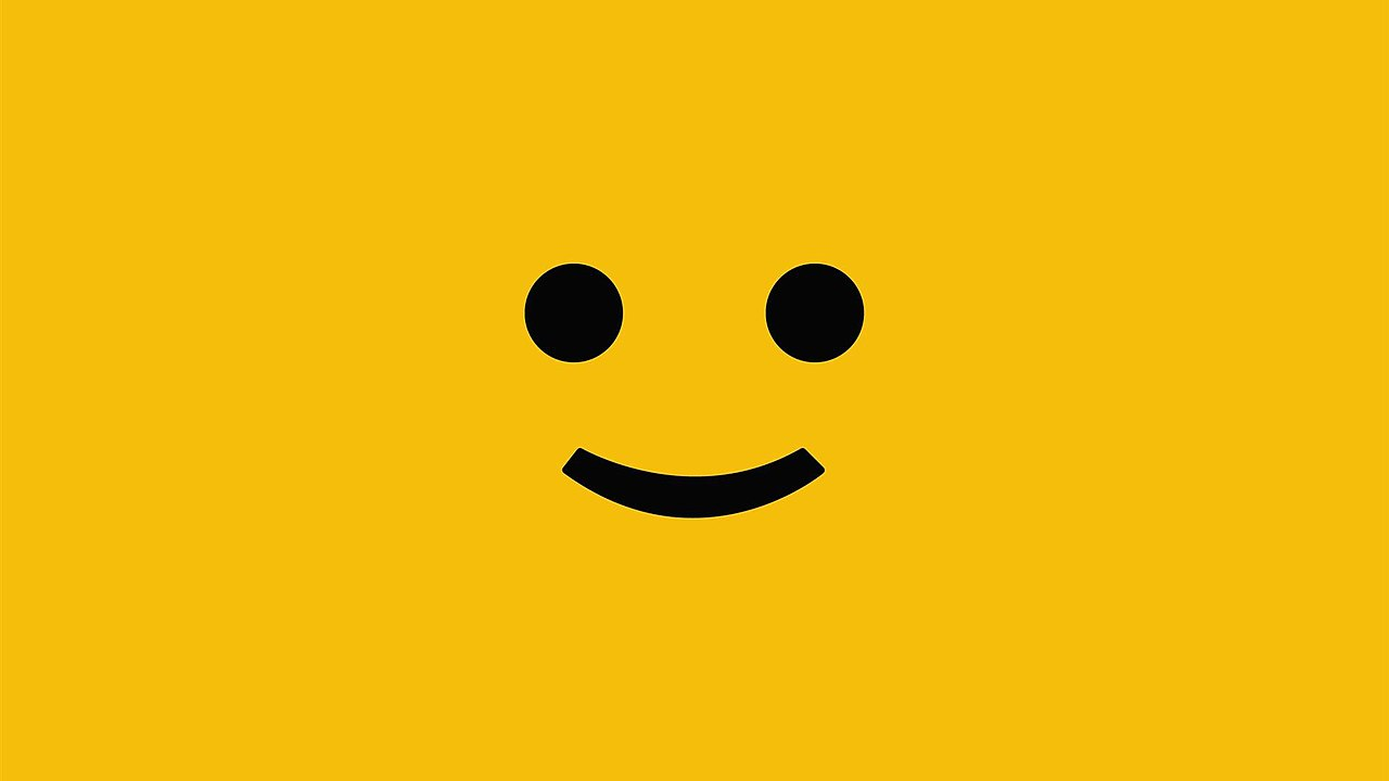 File Yellow Square Happy Smiley Jpg Wikimedia Commons