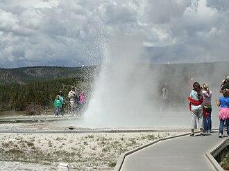 Sawmill Geyser - Image: Yellowstone sawmillgeyser