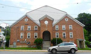 Yoe, Pennsylvania - Image: Yoe, York Co PA big apartment bldg