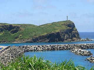 Cape Irizaki Westernmost point of Japan, on the island of Yonaguni