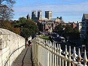York City Walls - geograph.org.uk - 589000