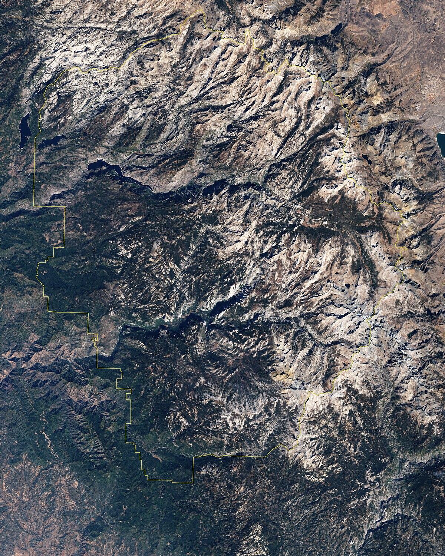 Geography Of The Yosemite Area Wikipedia