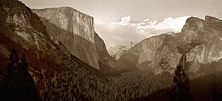 Yosemite Valley 1999 Yosemite Valley, 8x10 Negative, 1999.jpg