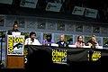 Yvette Nicole Brown, M. Night Shyamalan, Samuel L. Jackson, Bruce Willis, Sarah Paulson & Anya Taylor-Joy (28769111057).jpg