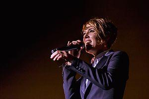 Zaz (singer) - Zaz (Paris Tour) in Brest in 2016.