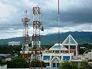 Communication towers in Zamboanga City.