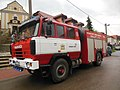 Zeměchy, 9. května, hasičský vůz.jpg
