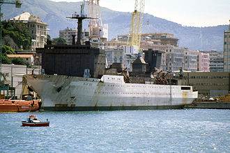 """Seven Seas Navigator - Image: """"Blue Sea"""" Genoa, 1997"""