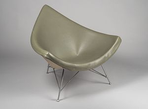 "George Nelson (designer) - ""Coconut"" Chair, 1958 Brooklyn Museum"