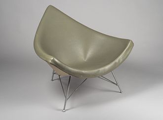 """George Nelson (designer) - """"Coconut"""" Chair, 1958 Brooklyn Museum"""