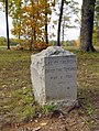 """Lee to the Rear"" Tablet, Wilderness Battlefield, Orange County, Virginia.jpg"