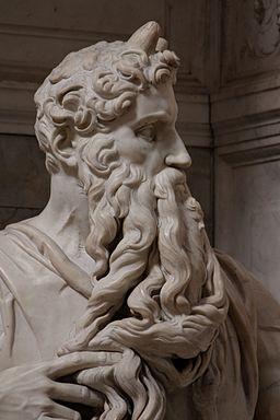 'Moses' by Michelangelo JBU290