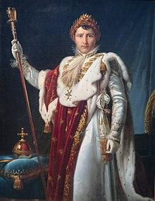 'Portrait of Napoleon I', studio of François Gerard, Pushkin Museum.JPG