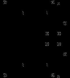 Strukturformel von Nadifloxacin