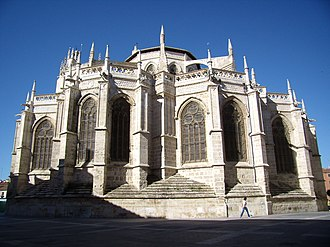 Palencia - Cathedral of Palencia´s apse