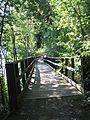 Älvleden Avesta 2008, en av många gamla träbroar. - panoramio.jpg