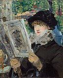 Édouard Manet - Woman Reading - 1933.435 - Art Institute of Chicago.jpg