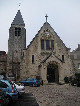 Bièvres, Essonne - Image: Église Bièvres