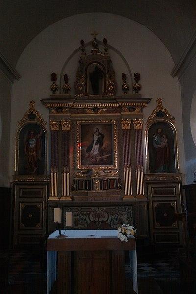 église Notre-Dame (XVIIe) de fr:Moon-sur-Elle