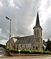 Église Saint-Remy d'Annebault. Vue nord-ouest.jpg