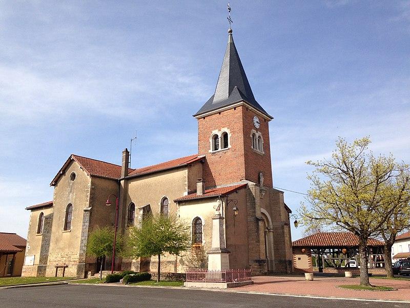 Église du village de Sulignat